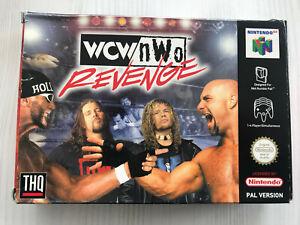 WCW NWO REVENGE NINTENDO 64 N64 PAL FRA/ENG/IT/ES CIB