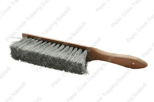 Papio-Creek-Wood-Handle-Trapper-039-s-Brush-Dirt-Hole-Leg-Hold-Sets