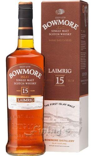 (128,21€/L) Bowmore 15 Jahre Laimrig Whisky 0,7 L