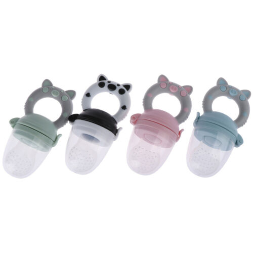 1Pc Teether silicone pacifier fruit feeder food nibbler feeder for baby# ZVW gb