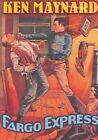 Fargo Express 0089218495693 With Ken Maynard DVD Region 1