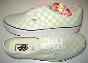 b331a5a47c Image is loading Vans-Mens-Authentic-Checkerboard-Ambrosia-Green-White-Skate -