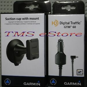 Garmin-Suction-Cup-Mount-Kit-w-Traffic-Receiver-for-Dezl-760LMT-770LMTHD-Trucker