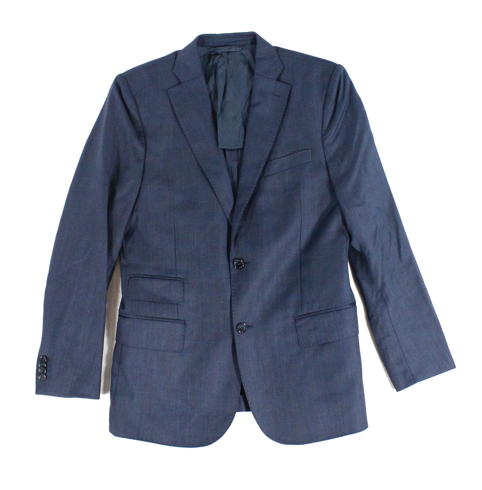 J.Lindeberg NEW Blau  Herren Größe 50 Regular Two Button Wool Blazer 795 963