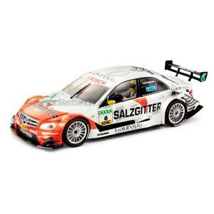 Slot-Car-Scalextric-Mercedes-C-Klasse-DTM-Michael-Schumacher-6-SCX-1-32-A10104
