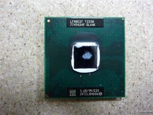 Processore Pentium T2330 1M 60 GHz CPU Intel 533 Cover processore 1 SLA4K Erqfr6