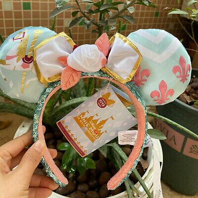 Disney Parks The Main Attraction Ears Carousel July King Arthur Ear  Headband