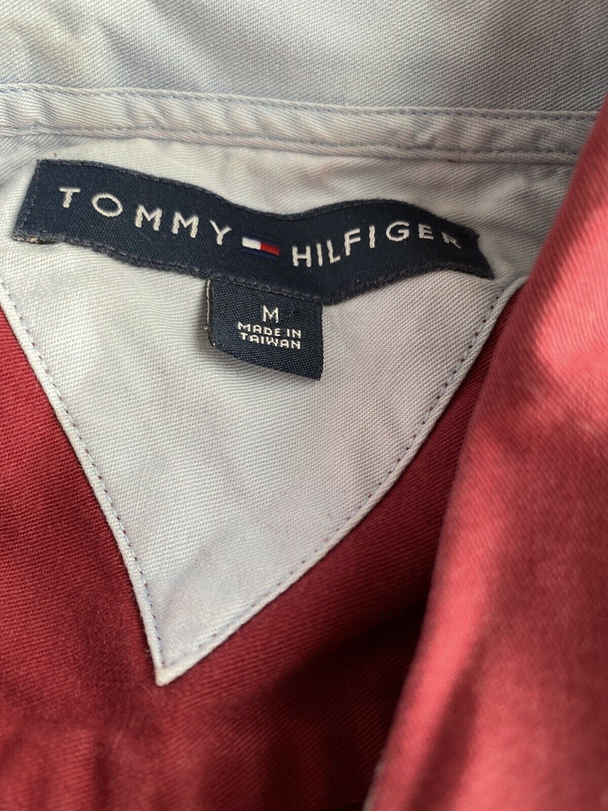 mens tommy hilfiger shirts medium long sleeve - image 2