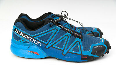 Shoes Men's Salomon Speedcross 4 CS Shoe Blue Depth