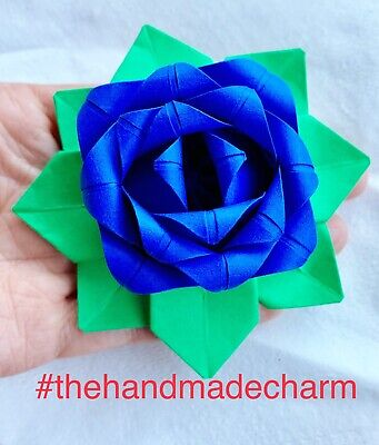 NEW ORIGAMI PLUMERIA FLOWER INSTRUCTIONS | Origami | 400x341