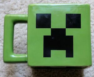 Jinx Cup Mojang Tea Game Ceramic Mug Details About Creeper Green Face Minecraft Coffee 7y6bYfg