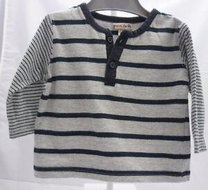 Grain-de-Ble-tee-shirt-manche-longue-gris-raye-bleu-marine-garcon-bebe-3-mois