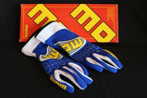 Momo Gloves Kart Top blue size 10 (CLEARANCE!)