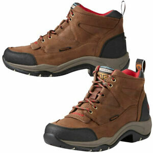 8a15c27d7ae Details about 10021493 Ariat Women's Terrain H2O Waterproof Hiking  Endurance Shoe - Distressed