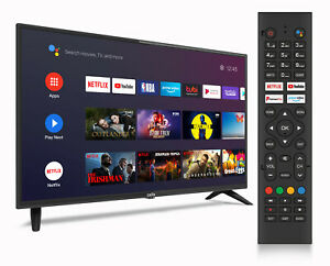 """CELLO 32"""" INCH SMART TV ANDROID TV GOOGLE ASSISTANT FREEVIEW PLAY WiFi HDMI USB"""