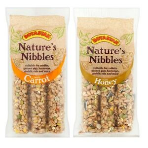 ROTASTAK-Natures-Nibbles-STICKS-Honey-Carrot-Seed-Small-Animal-Rodent-Treats-3pc