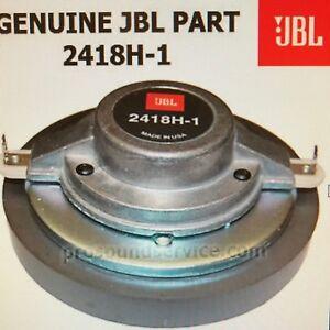 jbl 2418h 1 compression driver 8 ohm part for eon 15 g2 ebay. Black Bedroom Furniture Sets. Home Design Ideas