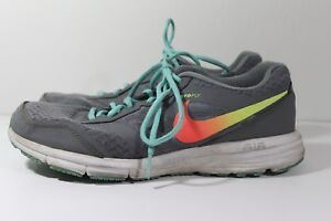 WOMEN S NIKE AIR RELENTLESS 4 Aeroply Running Shoes Gray Turquoise ... 0c1a34bd41
