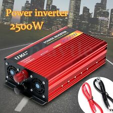 2500W Modified Sine Wave Inverter Power Inverter DC 12V to AC 220V Electronic