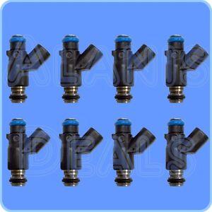 New-GM-12613411-Fuel-Injector-Set-8-Fits-2010-2013-Chevrolet-GMC-4-8L-amp-5-3L