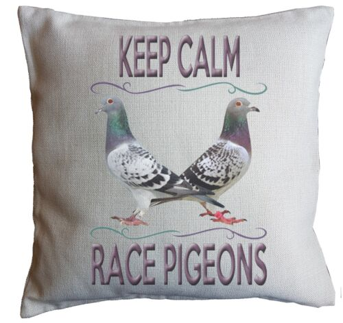 PIGEON GIFT Cushion Machine Washable Can Be Personalised 40cm x 40cm Pad Incl