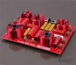 KASUN US-485C 4Way HiFi Speaker Frequency Divider Crossover Filters 230W