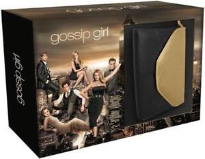 Gossip-girl-Seizoen-1-t-m-6-Unieke-Gossip-girl-Handtas-box-nieuw-in-seal