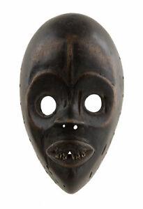 Maschera Africano Passaporto Dan Di Course Ritualisé Liberia Arte Tribale Raro