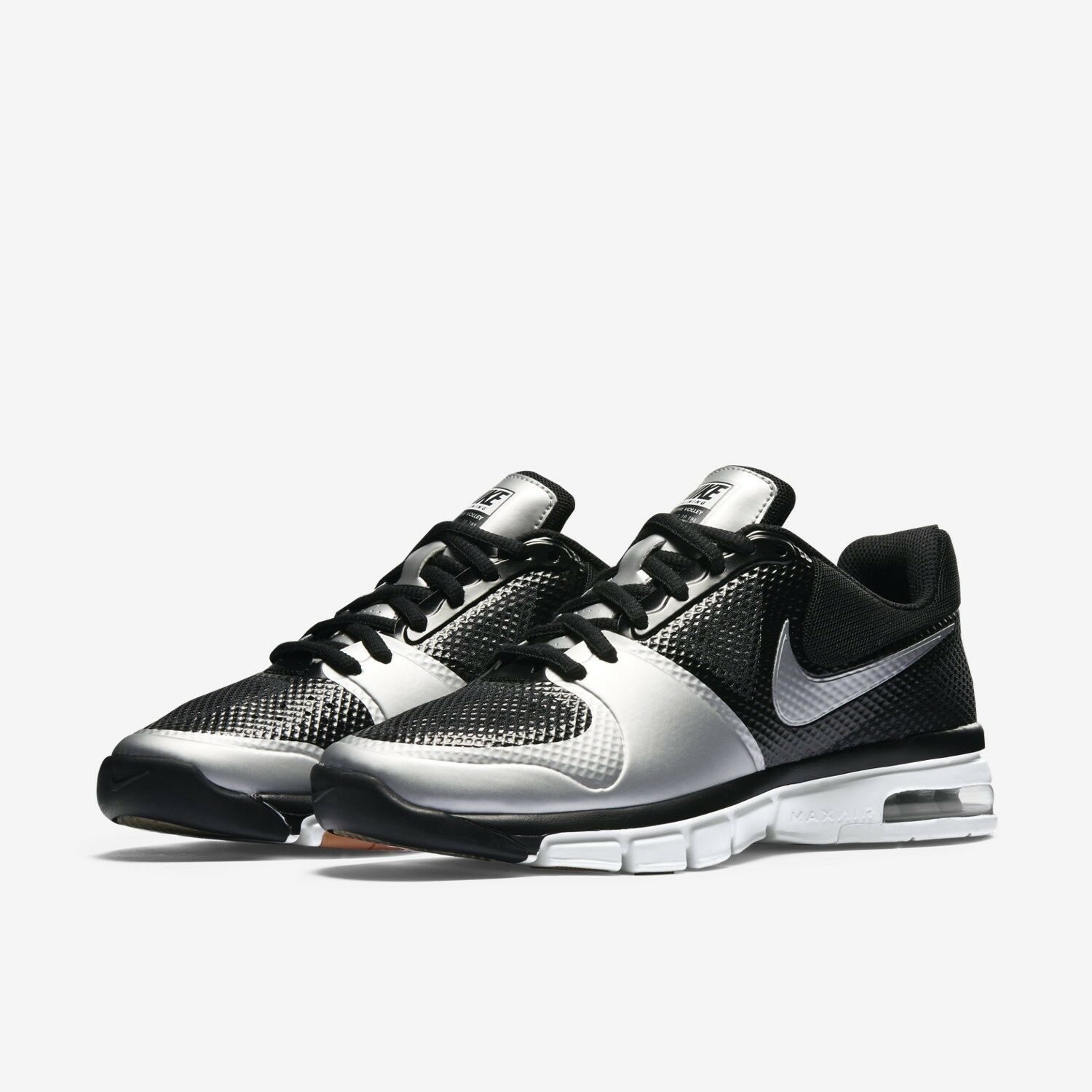 NEW Nike 442249 001 Air Extreme VOLLEY Black Silver VOLLEYBALL shoes Wom 12 ANB