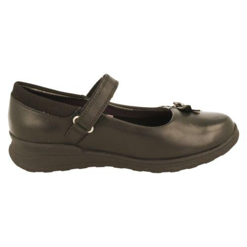 Filles Clarks École Chaussures-Mariel souhaite Jnr