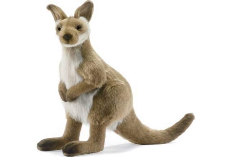 Hansa Toy 3646 Wallaby Canguro 36 cm Peluche Animali Impagliati peluche
