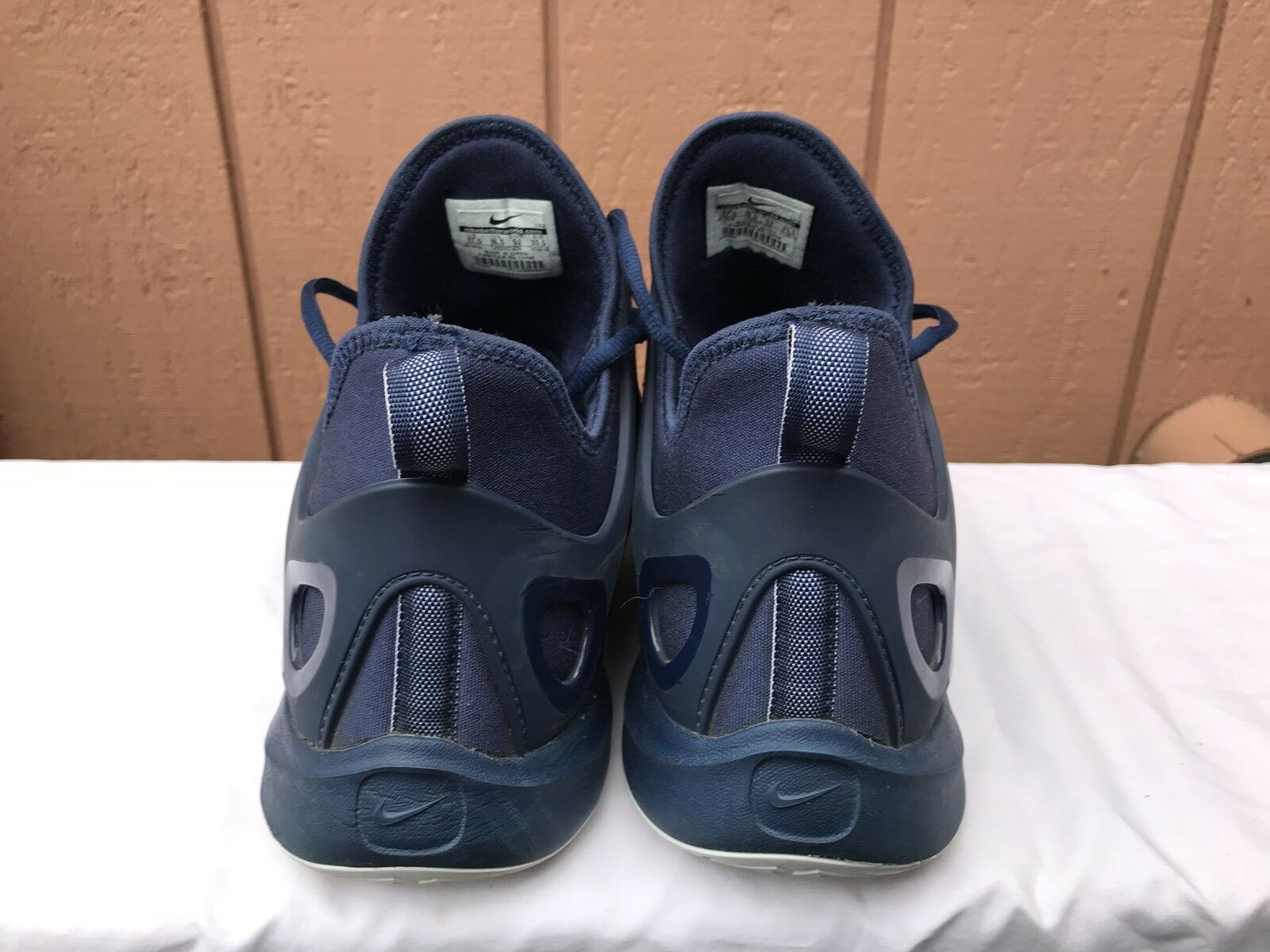 reputable site aeb03 40ec6 ... EUC Nike Zoom hyperrev 2018 Basketbal zapatos 742247 405 405 405 Azul  marino blanco 17, ...