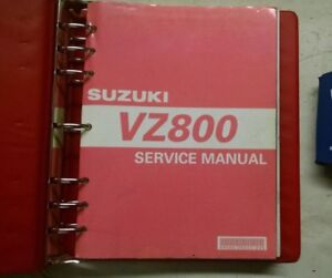 2005 SUZUKI VZ800 SERVICE SHOP REPAIR MANUAL 99500-38050-03<wbr/>E