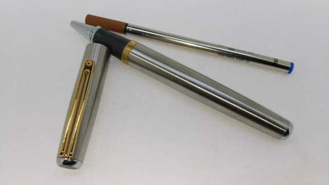 Bolígrafo roller WALL STREET tostado Inoxcrom