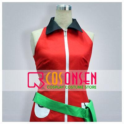 Cosonsen Pokemon Emerald Haruka May Cosplay Costume Halloween Cosplay Women XL