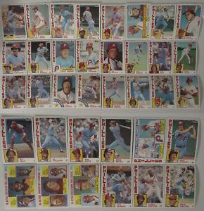 1984-Topps-Philadelphia-Phillies-Team-Set-of-36-Baseball-Cards