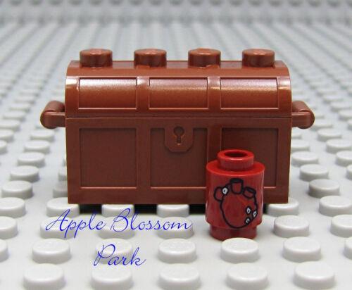 Neu Lego Fluch der Karibik Davy Jones Mensch Herz Minifig Schatz Truhe Baukästen & Konstruktion