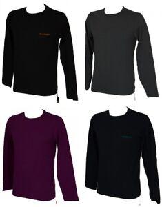 T-shirt-uomo-manica-lunga-girocollo-EMPORIO-ARMANI-articolo-111653-6A717