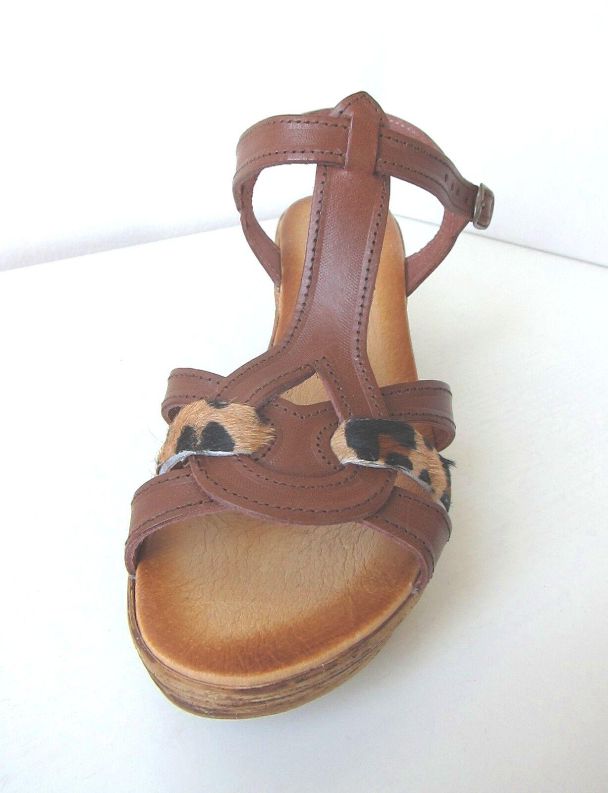 22f3361e7870d Tamaris Wedge Sandals Chocolate Brown Leo 41 Platform Platform ...