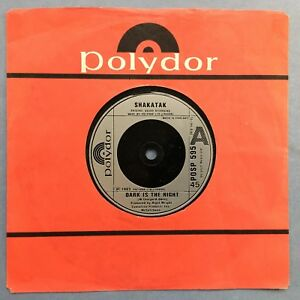 Shakatak-Dark-Is-The-Night-I-Lose-Myself-Polydor-POSP-595-Ex-Condition
