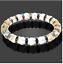 miniature 4 - Bracelet Red C Zirconia Natural Crystal Agate Stone Yoga Beads Women UKseller