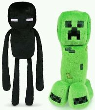 Set of 2 Minecraft Plush Creeper Enderman Mojang Xmas Gift