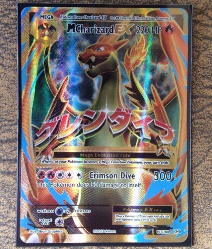 Pokemon Card  MEGA CHARIZARD EX FULL ART Ultra Rare  Evolutions 101//108 **MINT**
