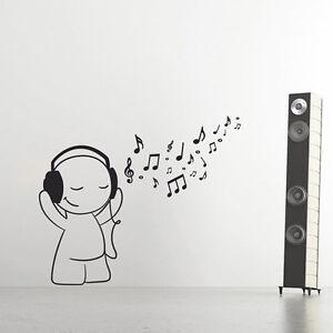 Wandtattoo-Musik-Dummy-Noten-DJ-Aufkleber-Dekorset-Wall-Wand-Tattoo-2118