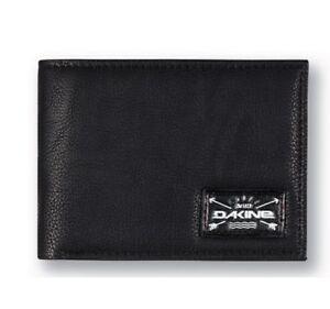 Cartera-Wallet-DAKINE-RIGGS-WALLET-BLACK-Faux-leather-Bi-fold-wallet