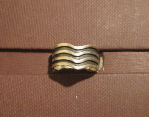 925er plata - diferentes tamaños! Anillo parcialmente a mano geschwärzt.