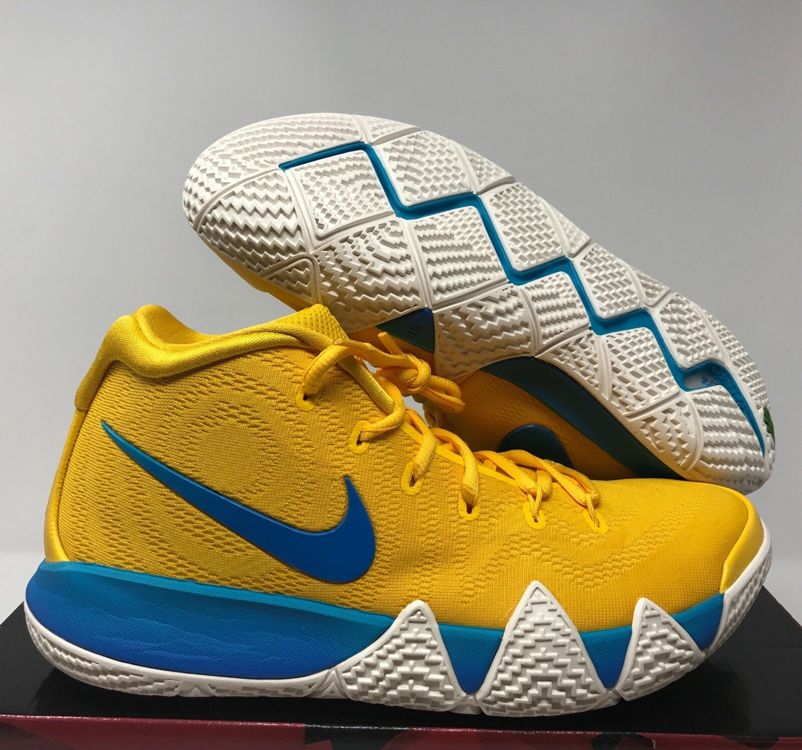 NIKE KYRIE 4 KIX CEREAL PACK yellow MULTI-COLOR SZ 11