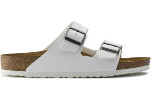 Birkenstock-Arizona-Birko-Flor-Regular-Fit-Unisex-Sandal-White