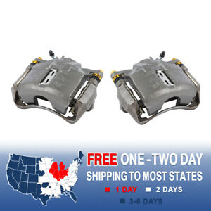 Front Brake Calipers Ceramic Pads For INTEGRA CL TL ACCCORD CR-V PRELUDE ODYSSEY