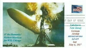Hindenburg-Fire-Airship-Lakehurst-Nj-Disaster-Colore-Immagine-Marchio-Giorno-Pm